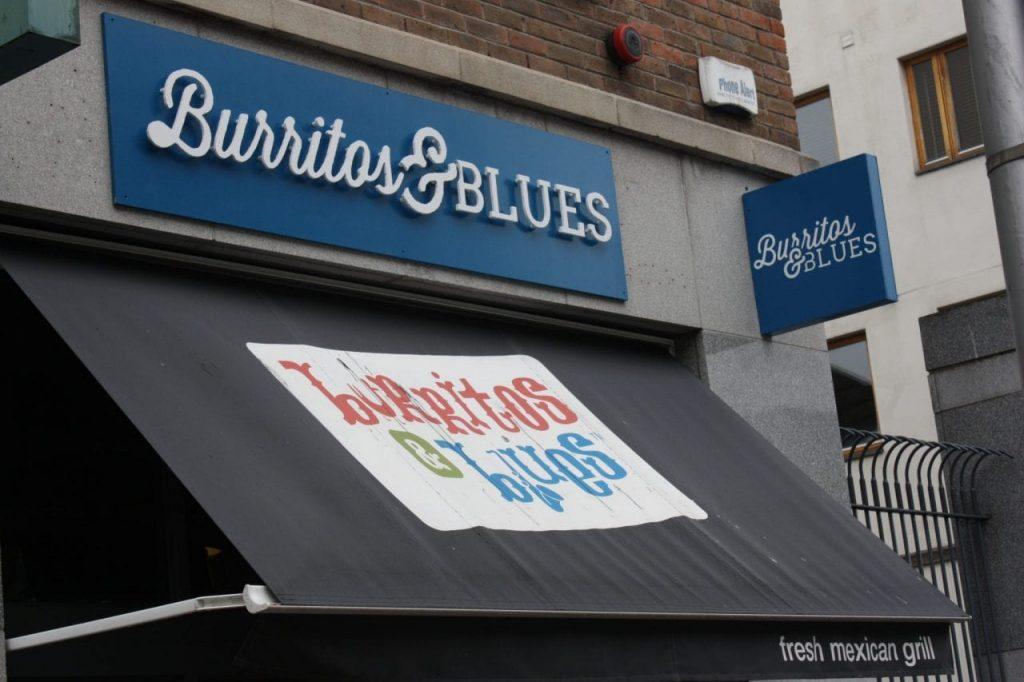 burritos blues ireland