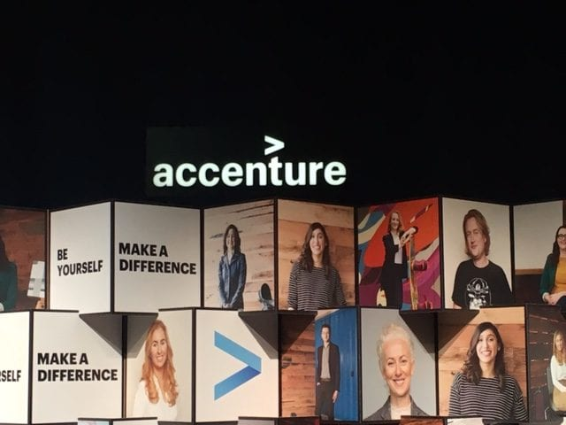 Accenture Signs Make a difference