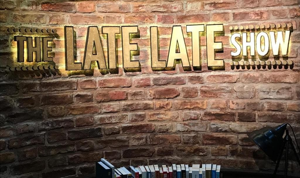 The Late Late Show Signage made by Elite Branding