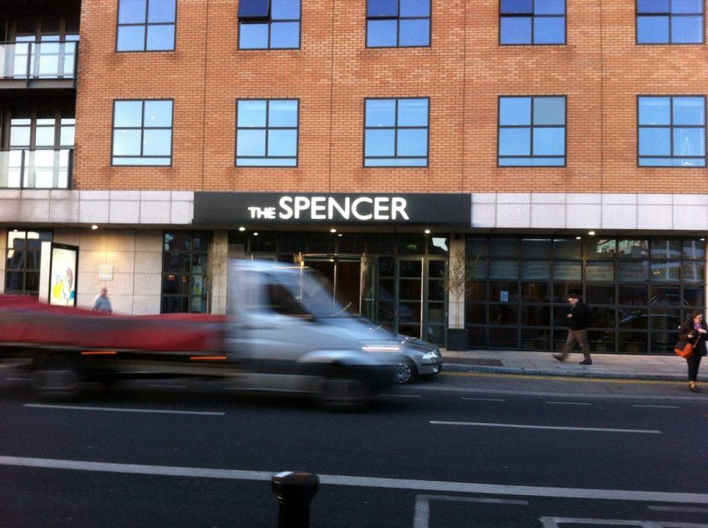 The Spencer Sign Dublin made by Elite Branding