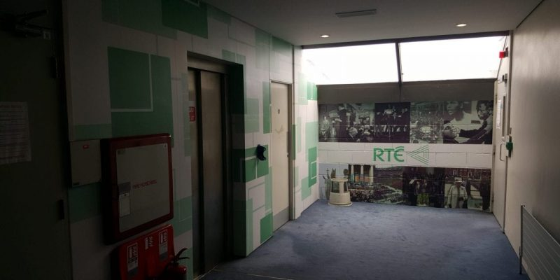 RTE building Interior Graphics and Signage designed by Elite Branding