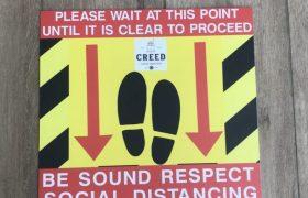 Socal Distancing Signage