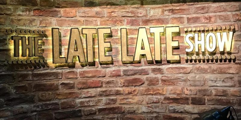 The Late Late Show Ireland Signage by Elite Branding Dublin